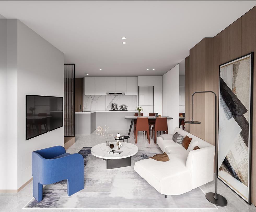 新作   LOFT青年公寓F户型