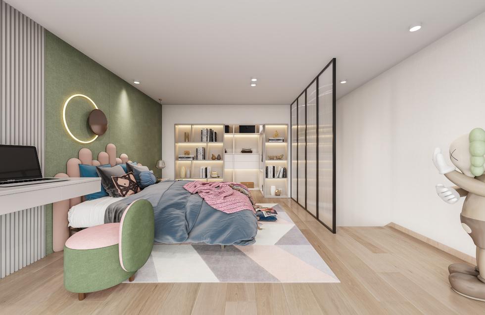 新作   LOFT青年公寓H户型