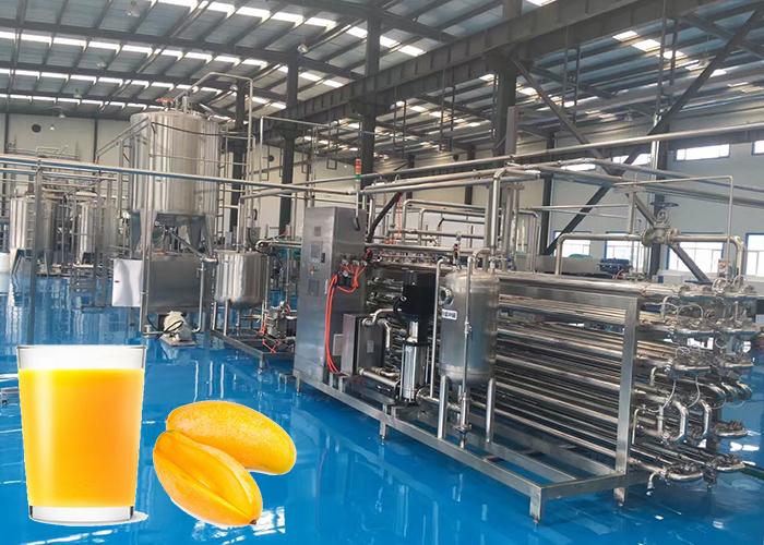 芒果果汁果醬生產線