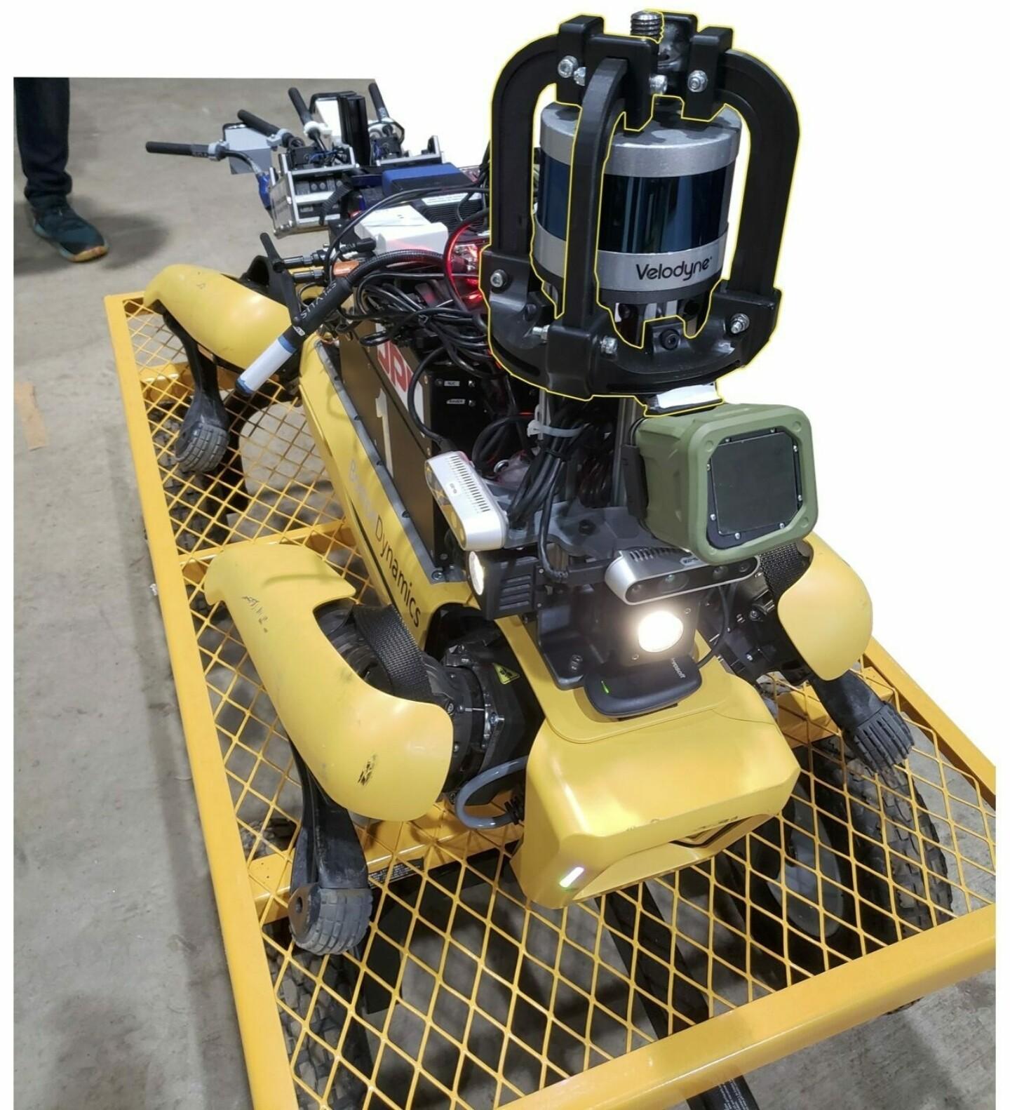 行星地下探索挑战赛,一机器人安装了15个3D打印部件|杭州博型3D打印