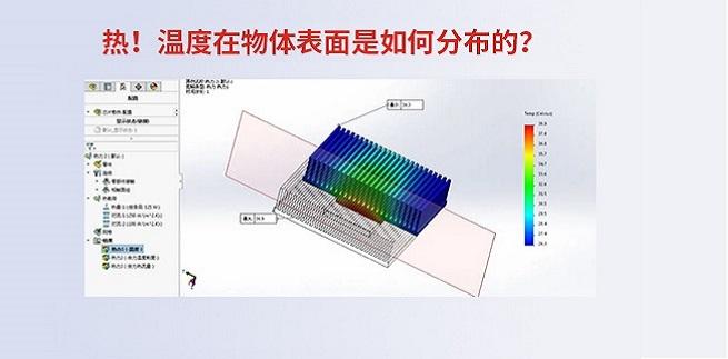热!温度在物体表面是如何分布的?