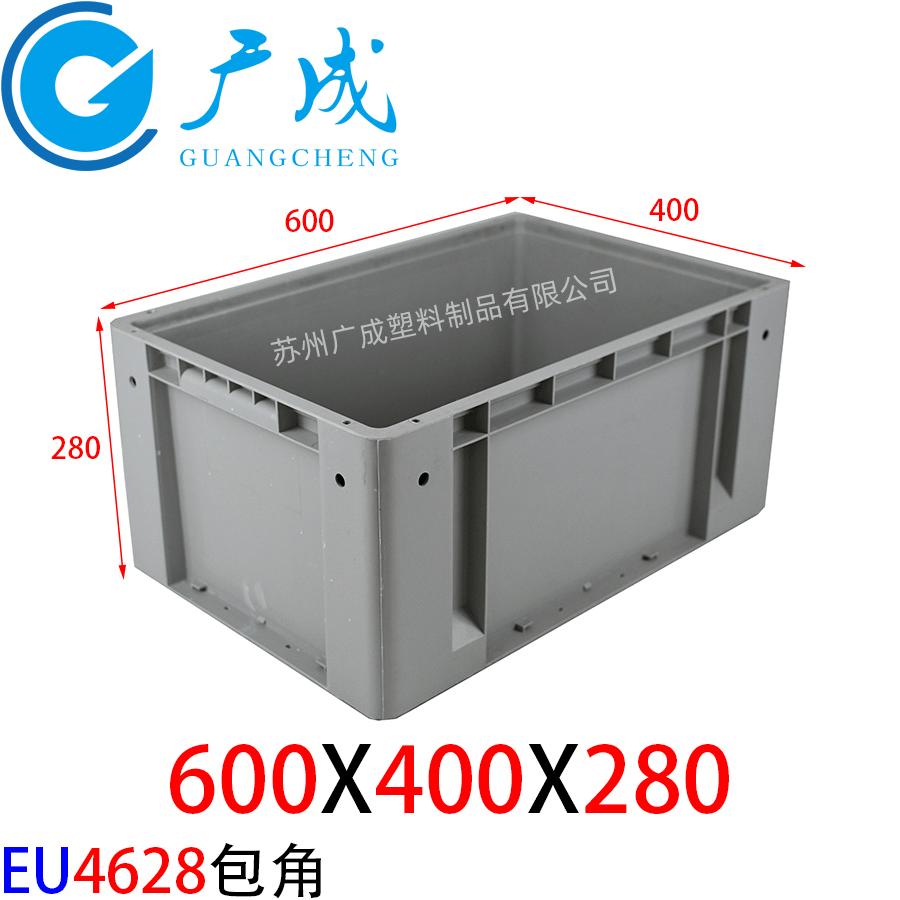 丰田EU4628物流箱包角款尺寸图