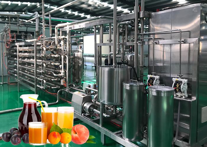 桃、杏、李醬加工生產線