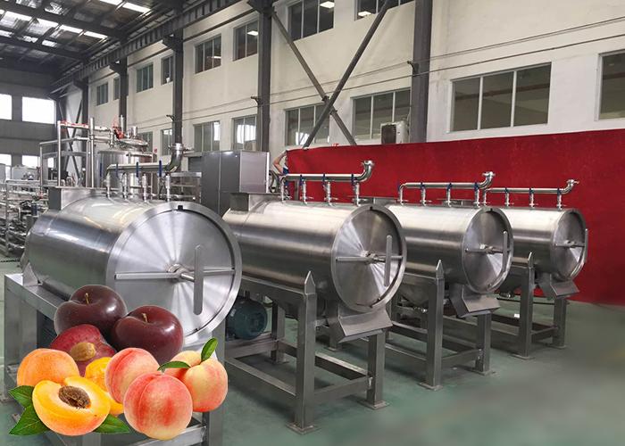 油柑汁油柑果醬生產線