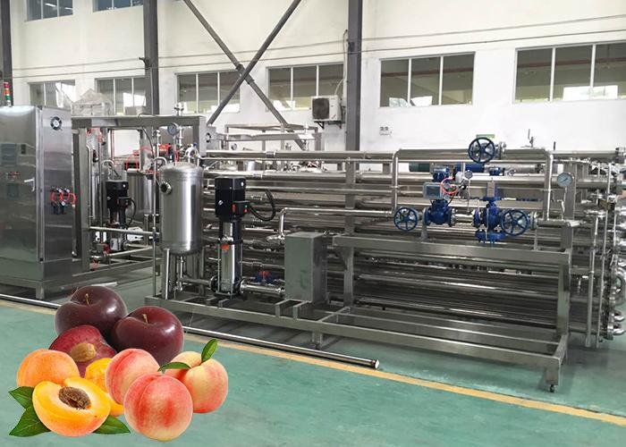 桃、杏、李酱加工生产线