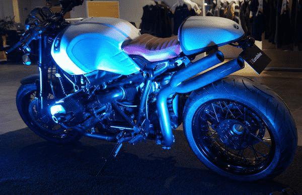 3D打印是摩托车改装定制的理想选择 杭州博型3D打印创意设计
