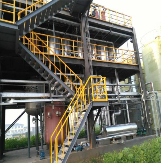 化肥含盐废水可以用蒸发工艺吗?