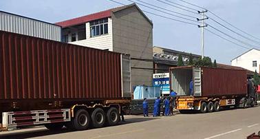 公司产品远销国外 远赴阿尔及利亚安装调试