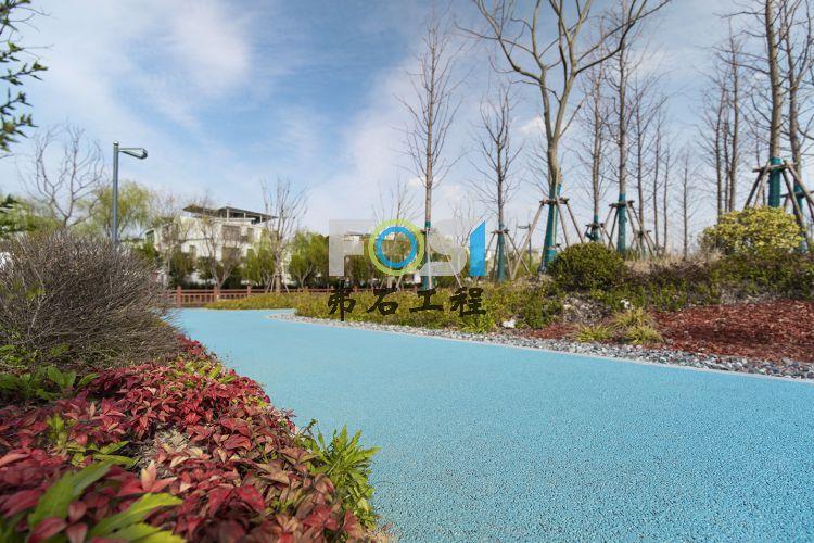 别墅社区透水路面美化项目