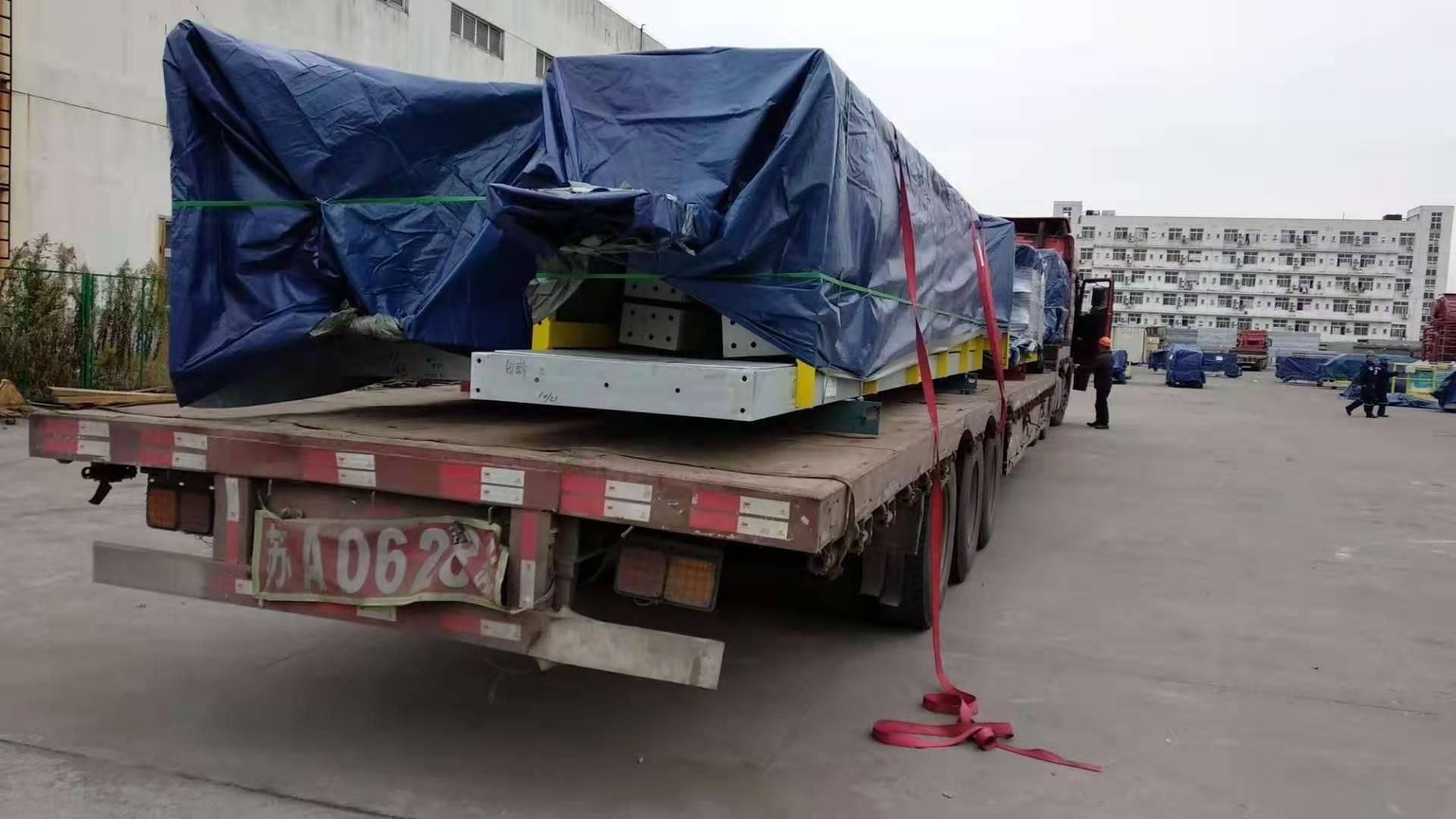 楚基物流钢构模块运输