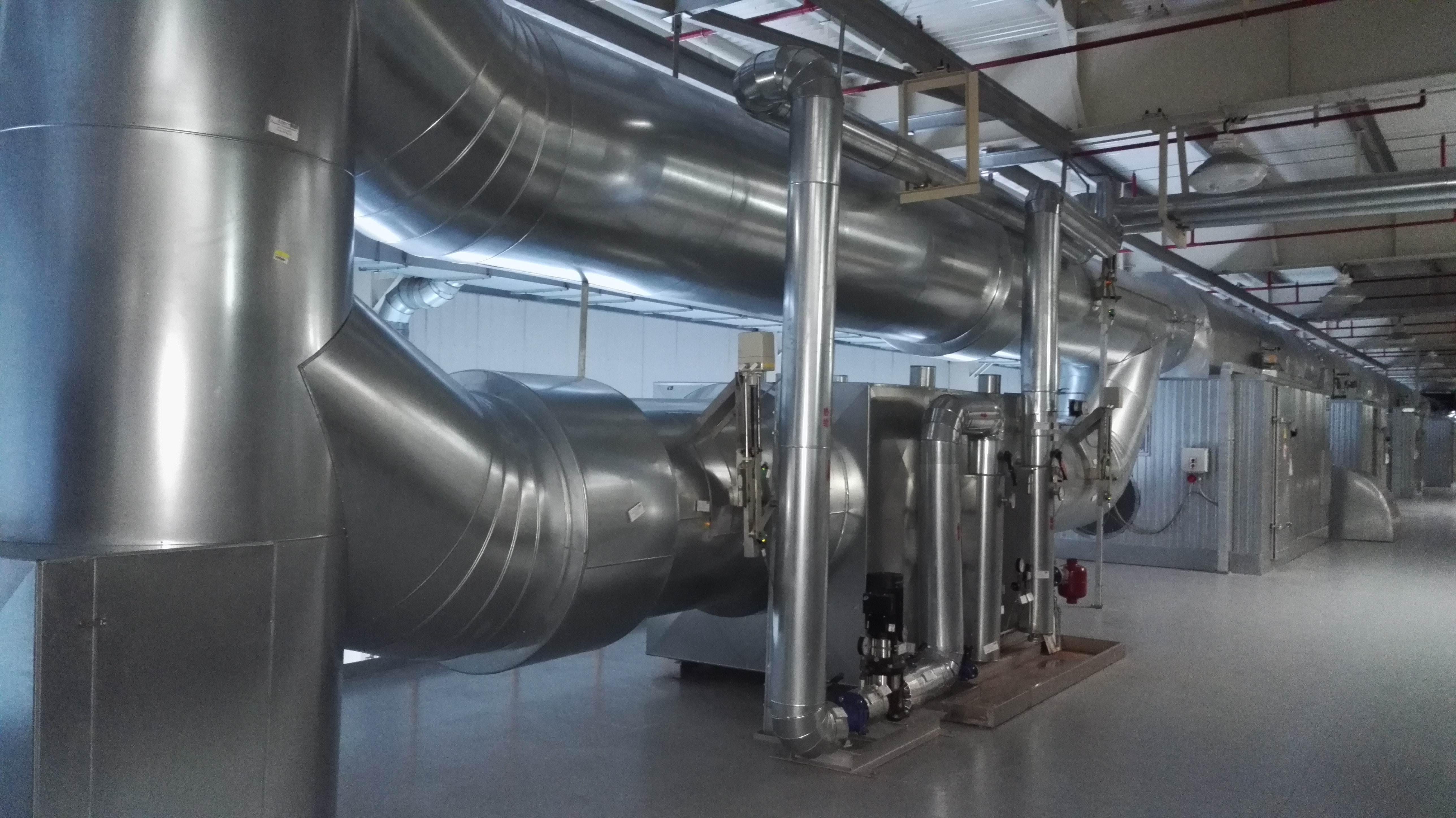 螺杆式空压机余热回收在木炭烘干行业的应用