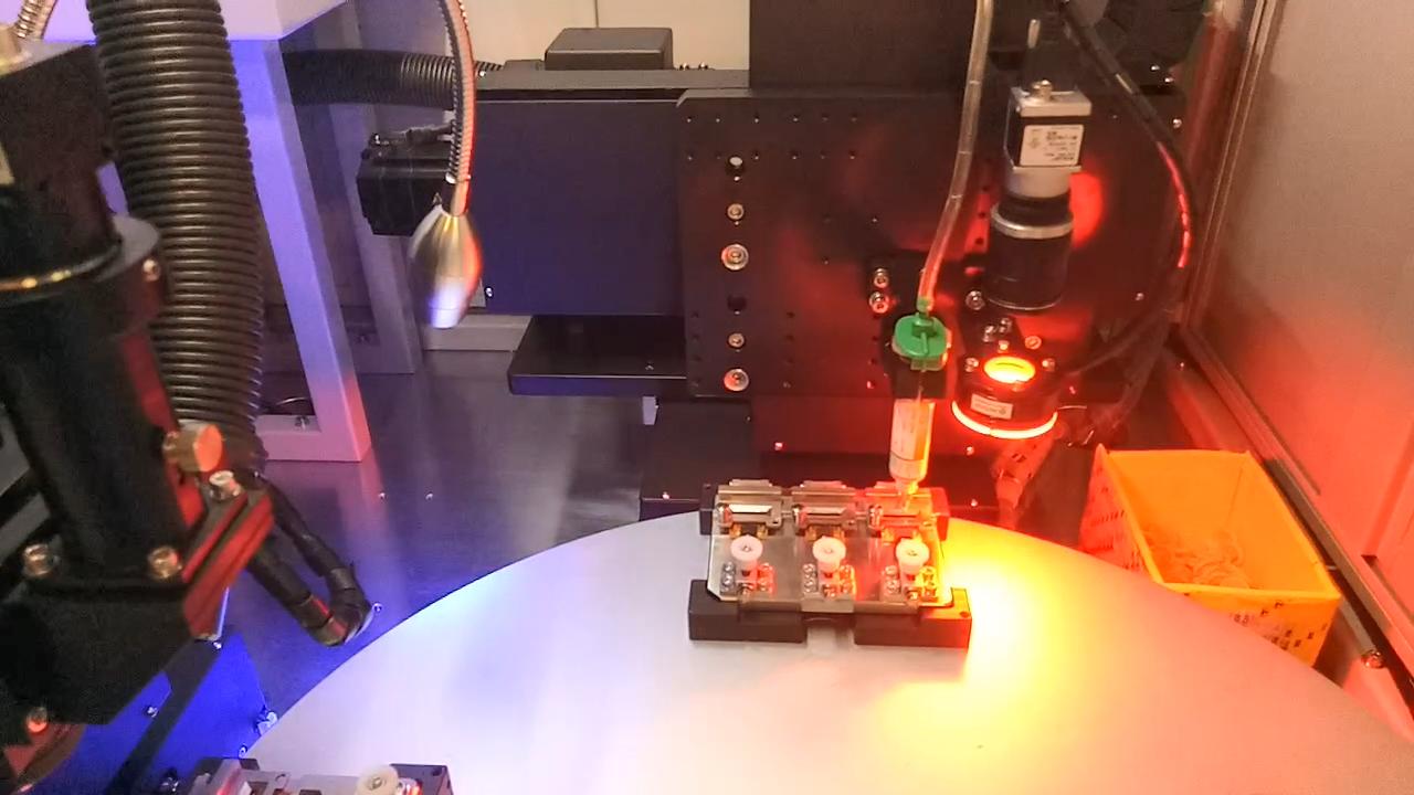 贴pian元jian激光焊锡机