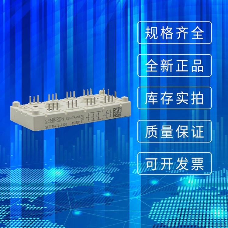 SEMIKRON西门康整流桥模块 SKDH146/16-L100 晶闸管可控硅全新原装现货