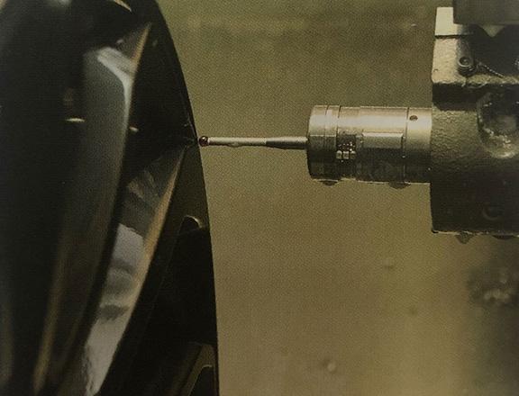 機床測頭在汽車配件制造過程中實現精密測量