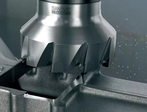 山特維克可樂滿 :M5F90 粗加工和精加工組合銑削刀具