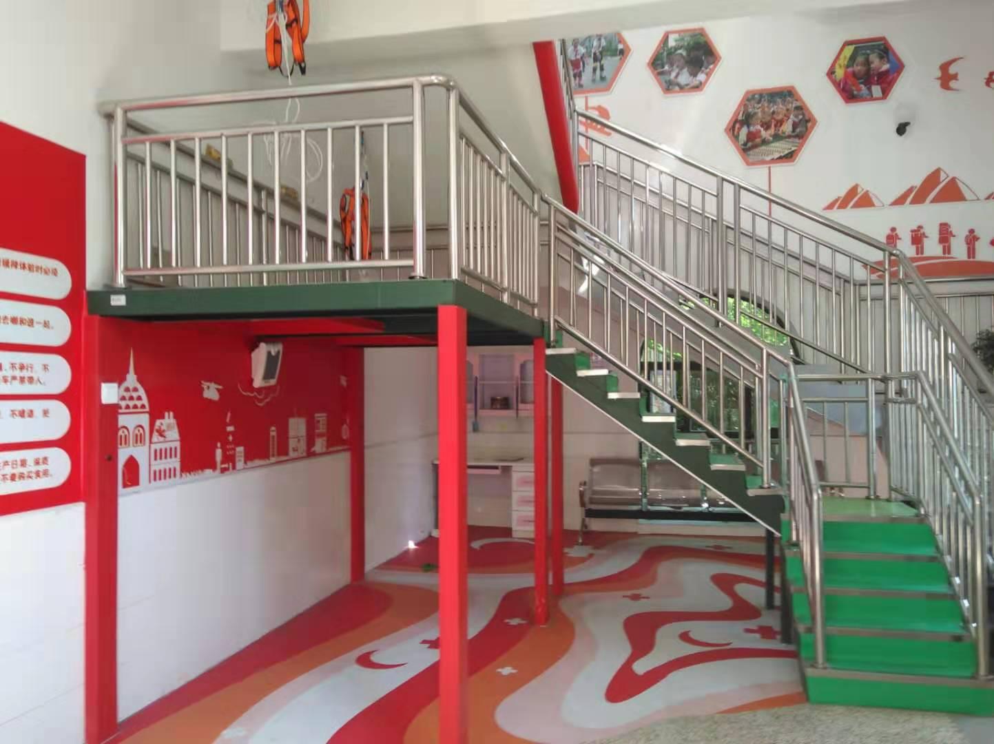 新疆巴音中心小学安全教育馆