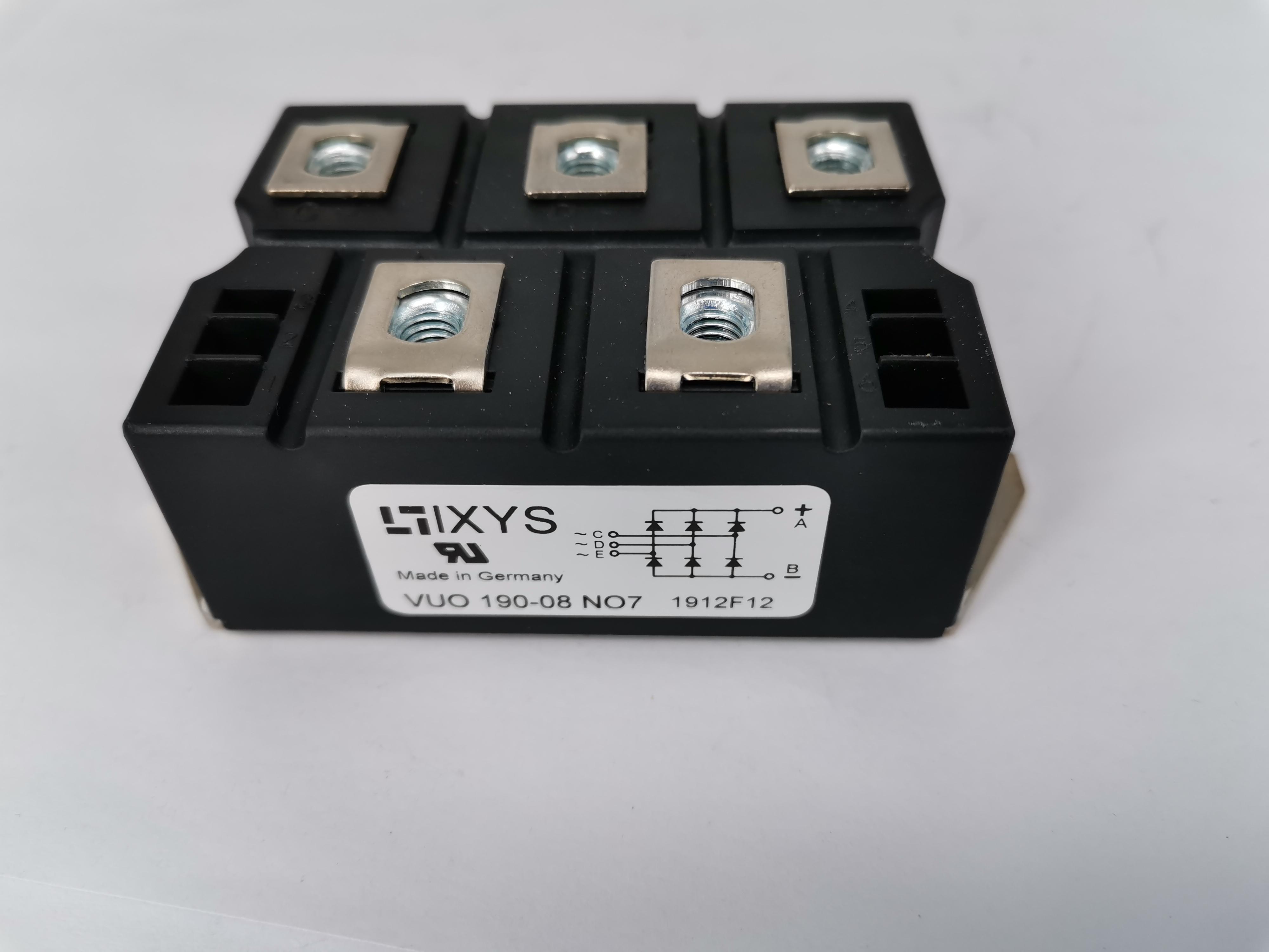 全新原装 IXYS艾赛斯整流桥模块VUO190-16NO7  晶闸管可控硅模块