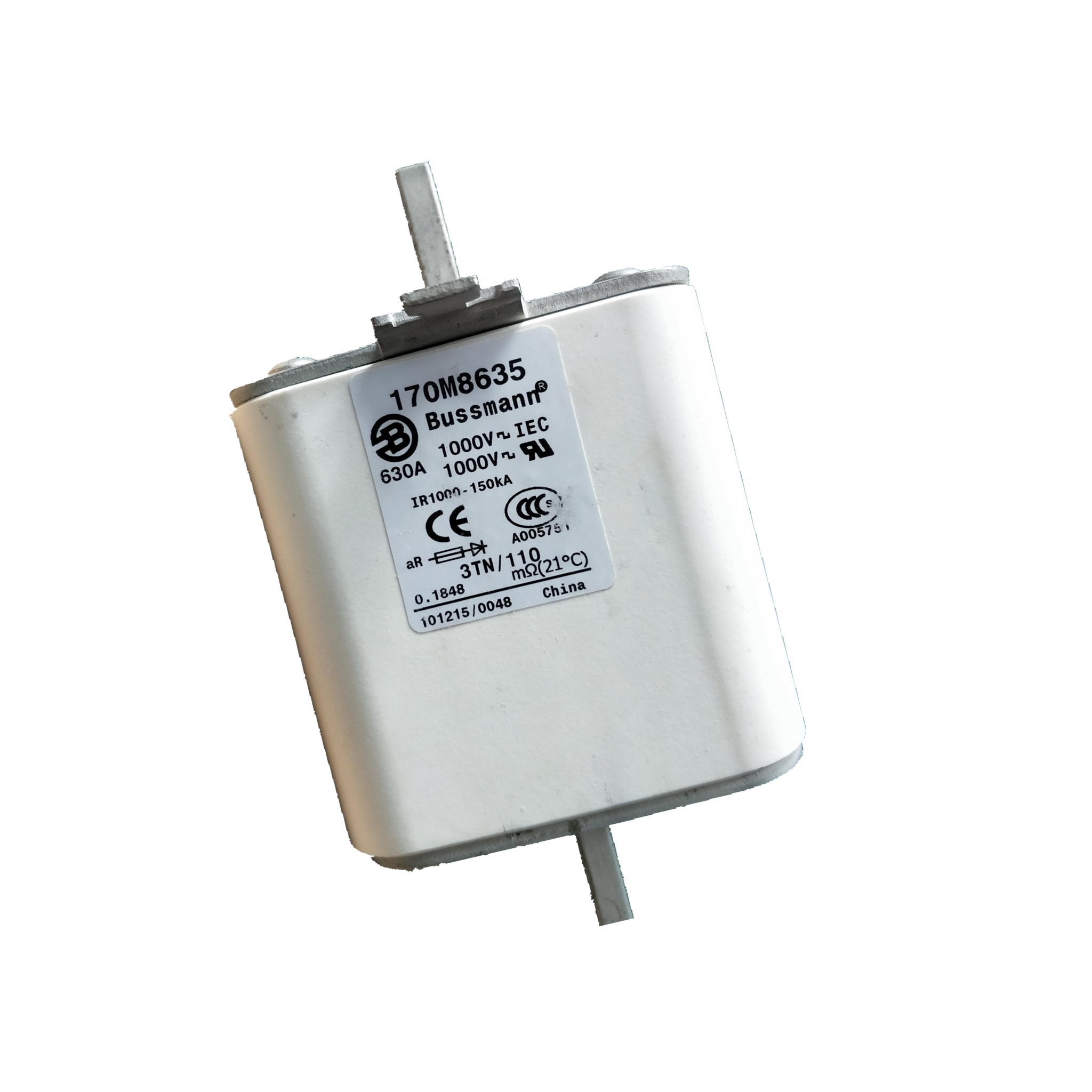 全新原装巴斯曼熔断器170M8635 快速熔断器 熔芯 现货