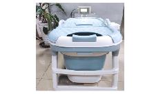 泡澡恒温器加折叠浴桶