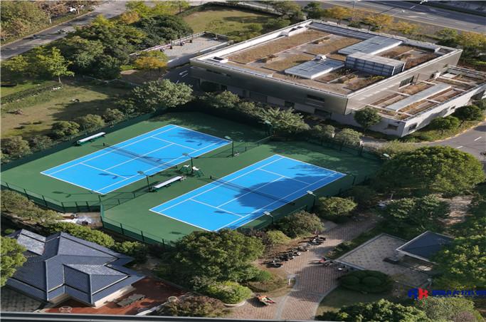 百汇园一期网球场配套设施、二期游乐场