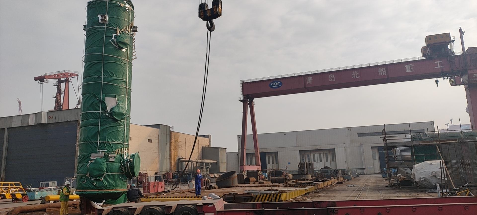 楚基物流运输,船厂罐体设备运输