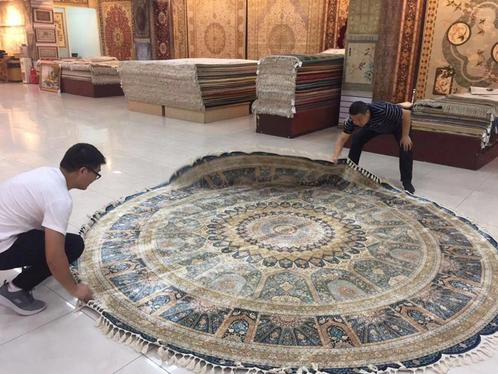 真丝地毯、波斯地毯---八方来客