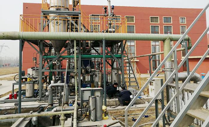 生物制药废水处理项目安装现场