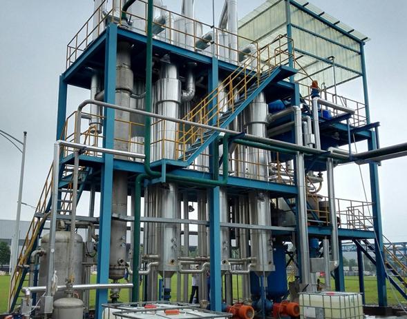 江西某化学公司25T/h MVR锂钠混合溶液蒸发结晶系统