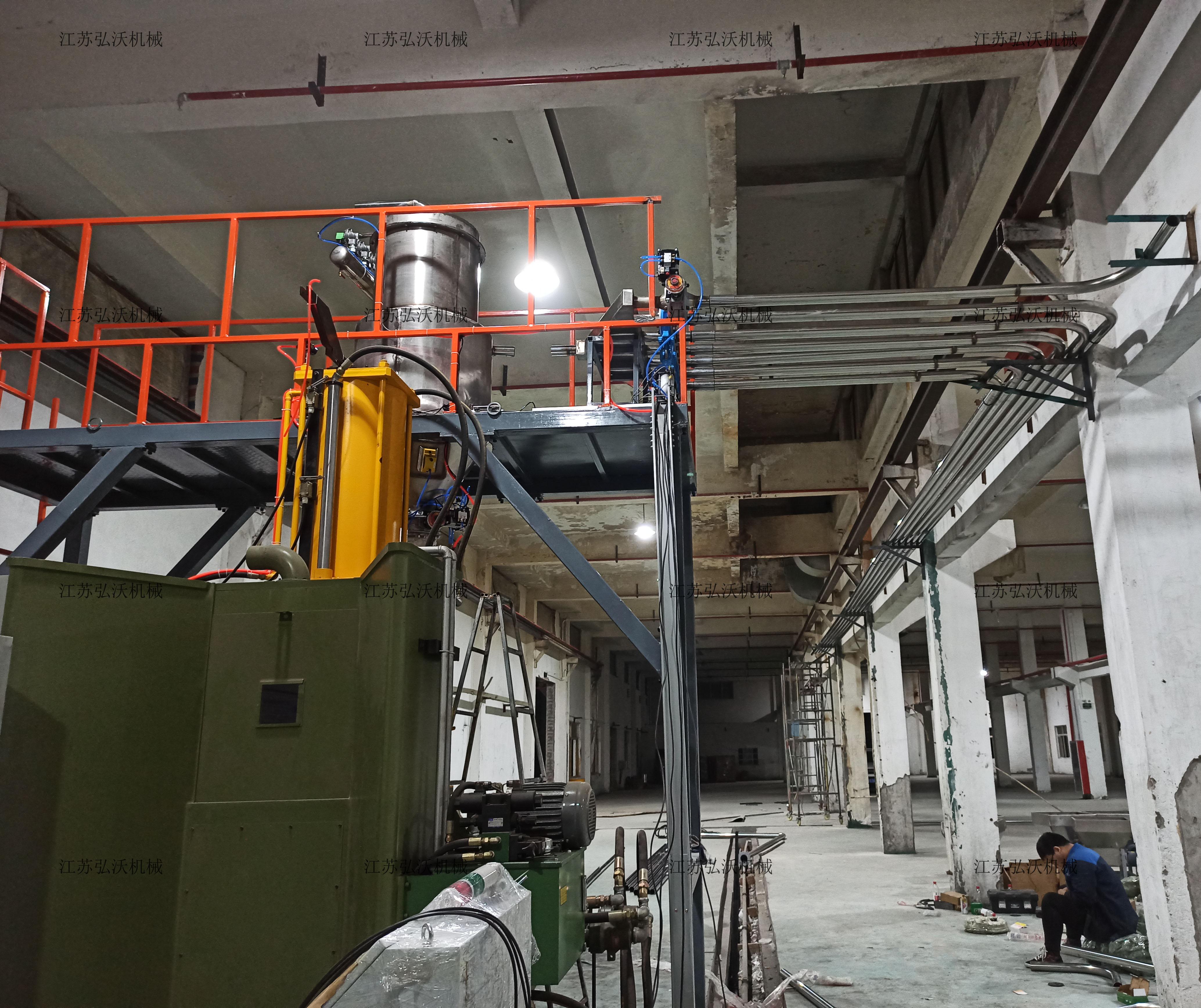 江苏弘沃机械——浙江三门安装进行中