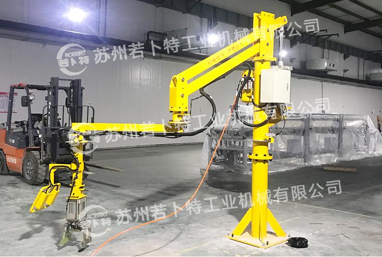 助力机械手设施的结构构造。