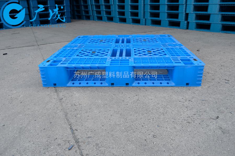 1111F網格田字塑料托盤進叉口