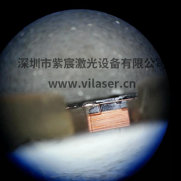vcm/电感线圈焊接案例--PIN脚焊点效果