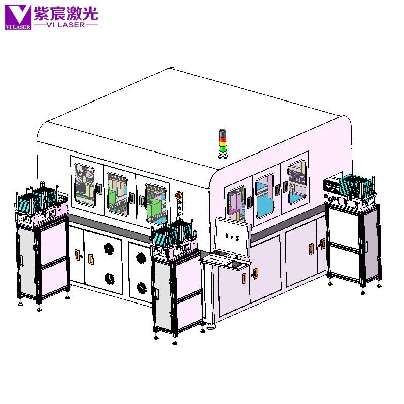 通xun模块自动组装激光han锡设备