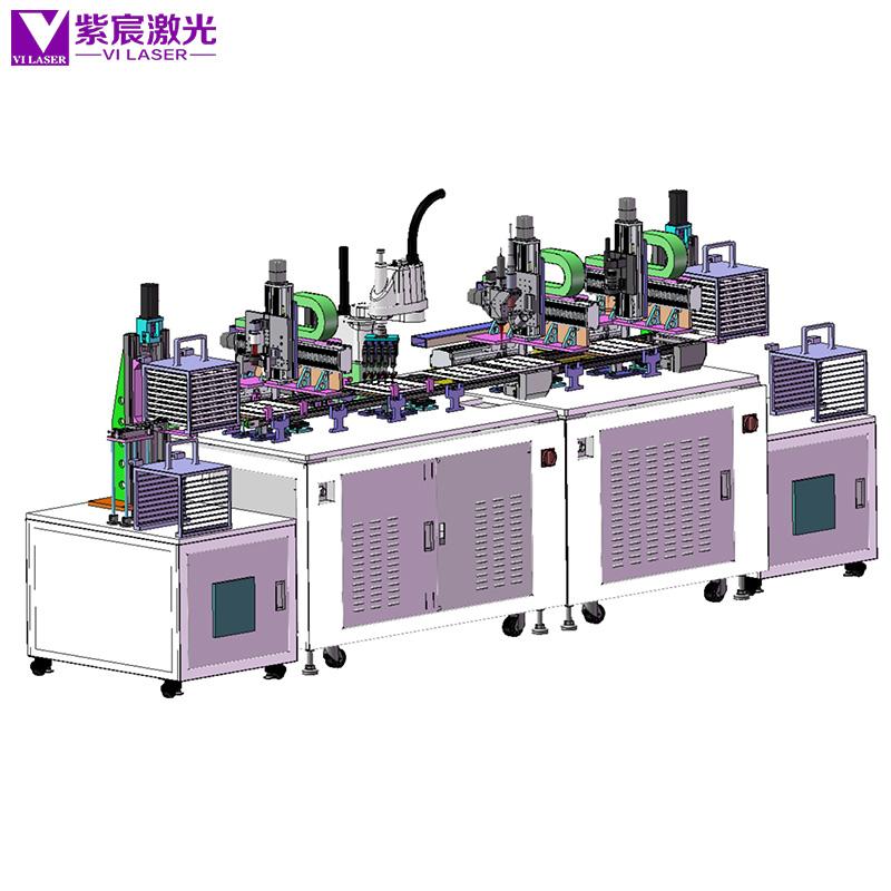 贴片电阻自动激光焊接机(非标定制)