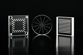 光学玻璃厚玻璃手机玻璃石英玻璃切割_切割_打孔_红外皮秒激光切割设备加工