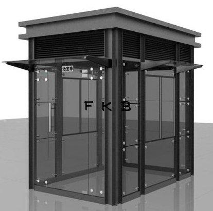 FKB-玻璃岗亭