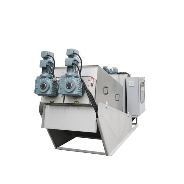 Screw Sludge Dewatering Machine