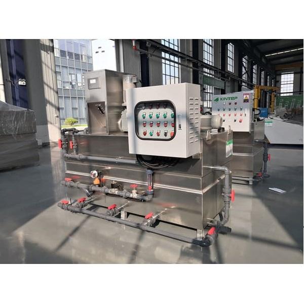 자동 폴리머 준비 기계