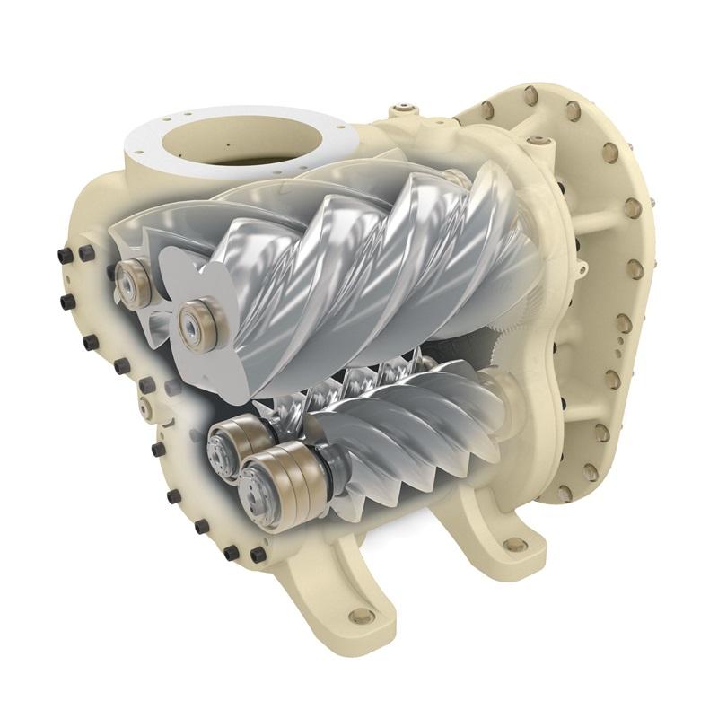 第二代R系列200-250微油螺杆式压缩机