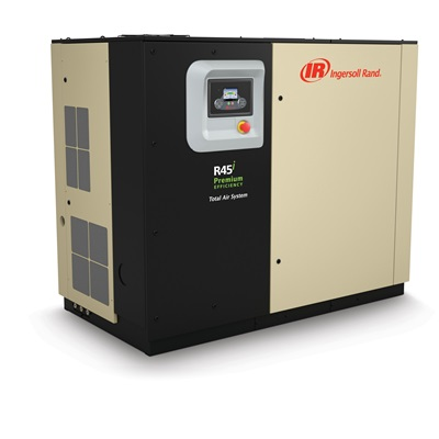 混合永磁变频单级压缩微油螺杆空气压缩机