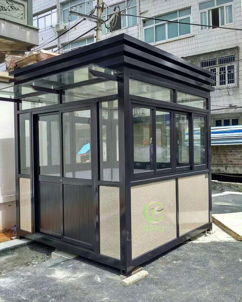 新钢结构四方岗亭KJ808