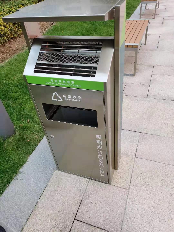 不锈钢垃圾箱CQU-BX-D056