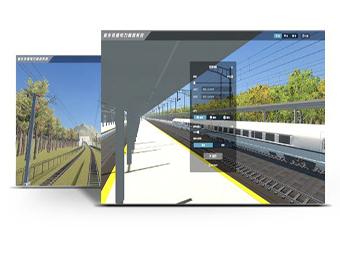 高铁供电仿真模拟系统