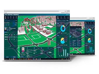 三维智慧社区可视化管理系统