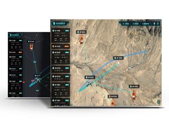 飞行态势可视化模拟系统