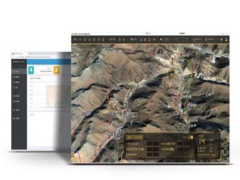 智慧矿山GIS系统