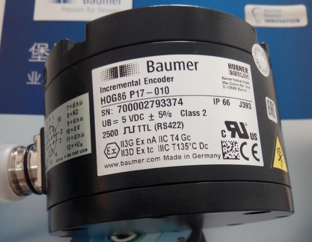 Baumer堡盟编码器HOG86 P17-010