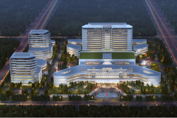 喜讯!无锡减隔震成功中标新疆石河子市人民医院新院区项目