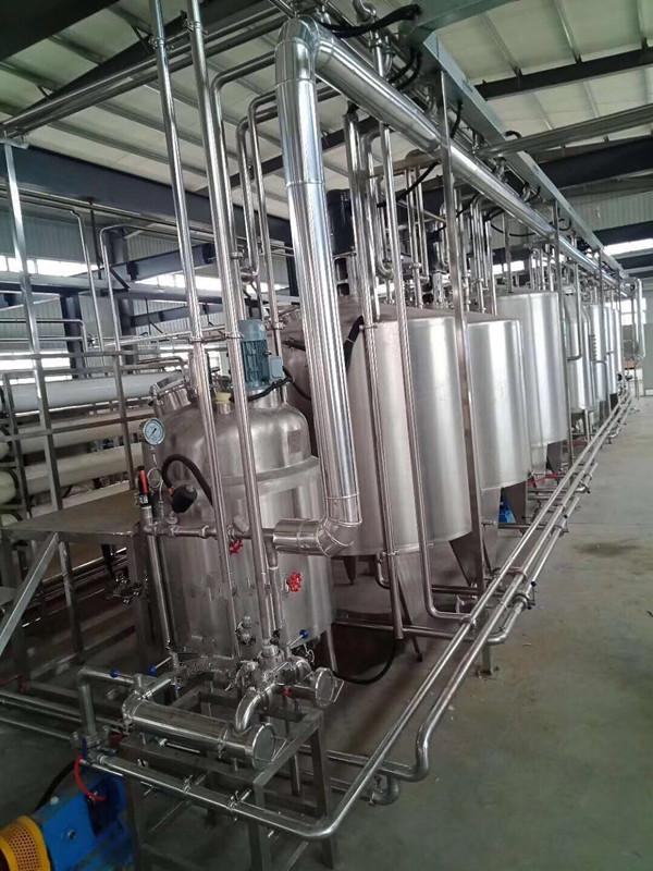 飲料調配生產線
