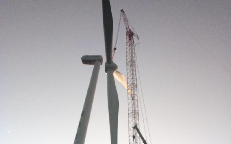 昆明市西山区风摆山风电场工程